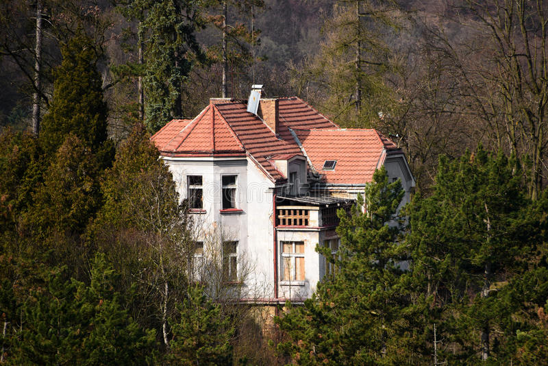 Old family house in central Bohemia royalty free stock photo