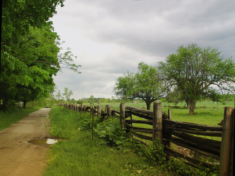 Download An Old Farm Stock Photos - Image: 421973