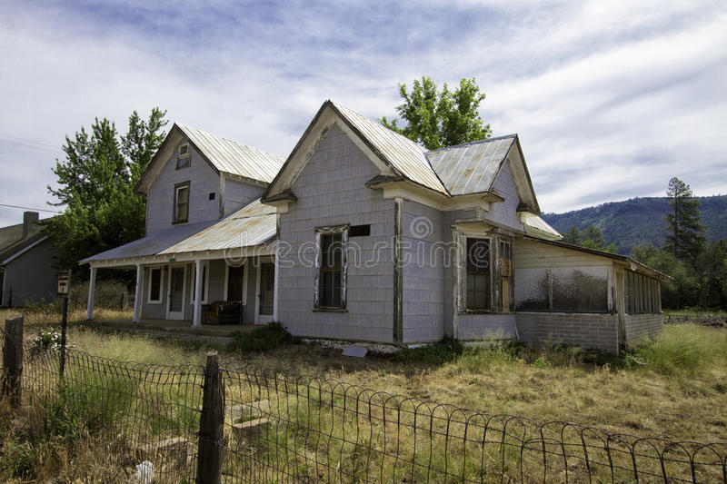 Old farm house in the Arizona country royalty free stock photo