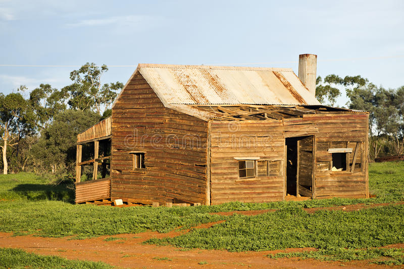 Download Old Farm House In Australia Stock Photo