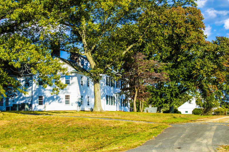 Old Farm House. In central NJ during a sunny fall day stock photography