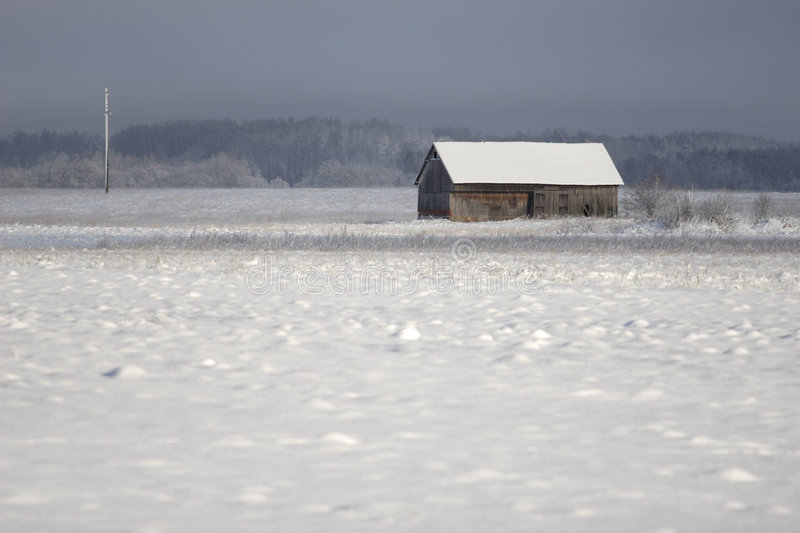 Download Old farm house in winter stock photo. Image of forest - 7193998