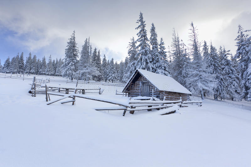 Download Old Farm In The Mountains Royalty Free Stock Photo - Image: 28090285