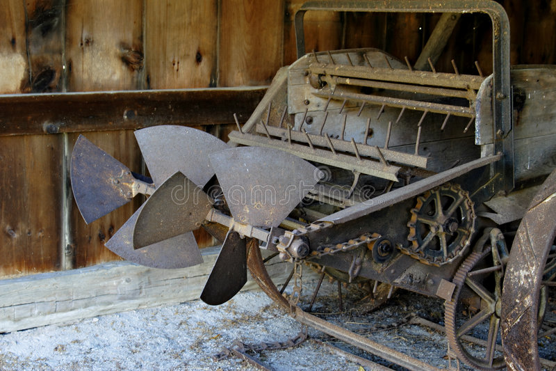 Download Old farm plough stock image. Image of growing, industrial - 3174933