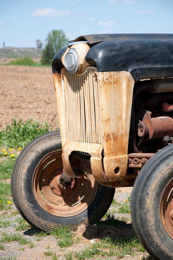 Download Old farm tractor stock image. Image of antique, nostalgic - 19482303