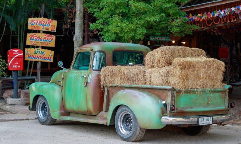 Old farm truck royalty free stock photos