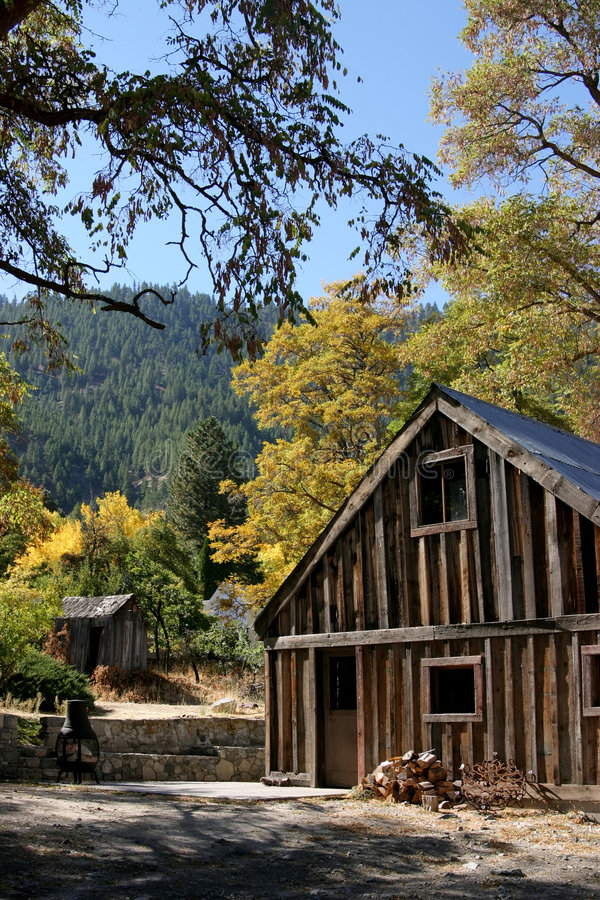 Download Old Farmhouse Shed stock photo. Image of farmhouse, fall - 1933102