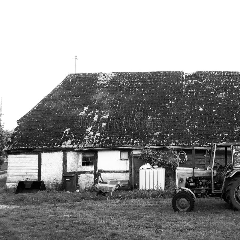 The Old Farmhouse royalty free stock photography