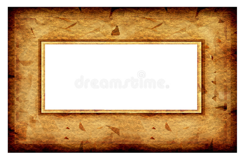 Old fashion abstract frame royalty free illustration