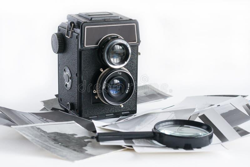 Old Fashion antique camera stock photos
