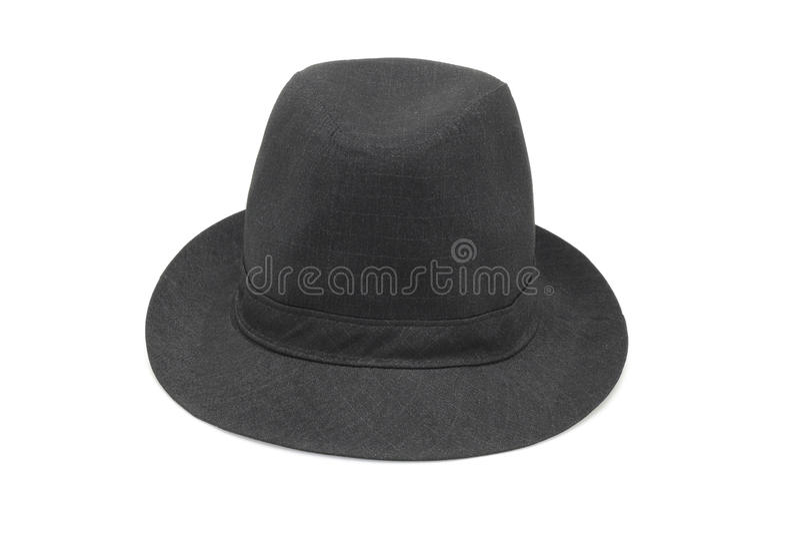 Old Fashion Black Hat Royalty Free Stock Photo