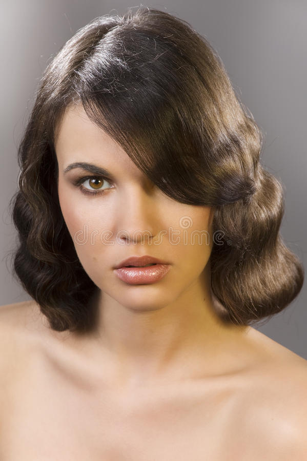 Download The old fashion coiffure stock photo. Image of glamour - 13699376