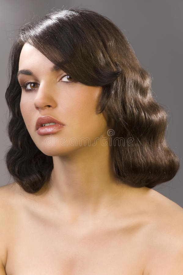 Download The Old Fashion Coiffure Stock Images - Image: 13699414