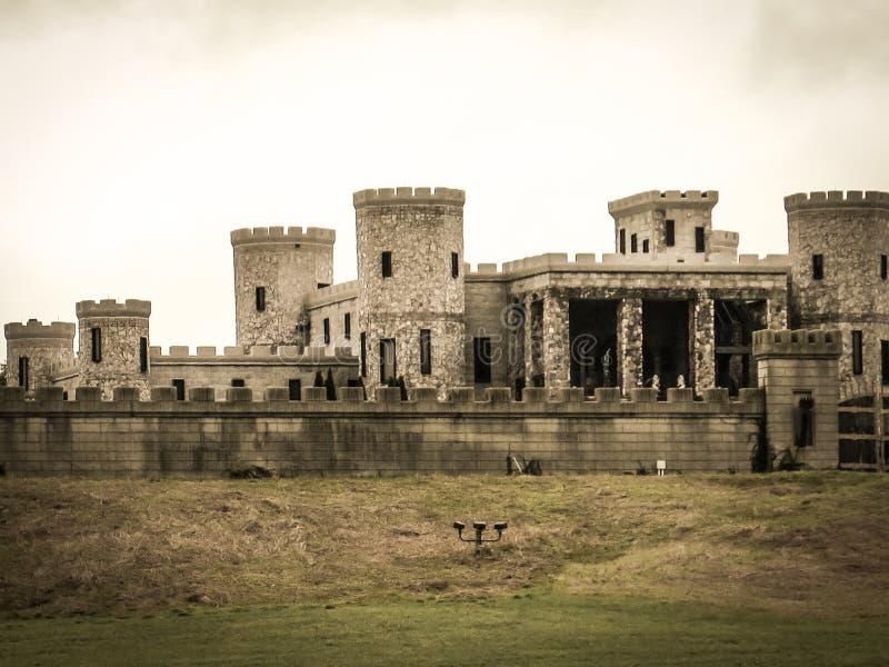 Old Fashion Styled Castle stock image
