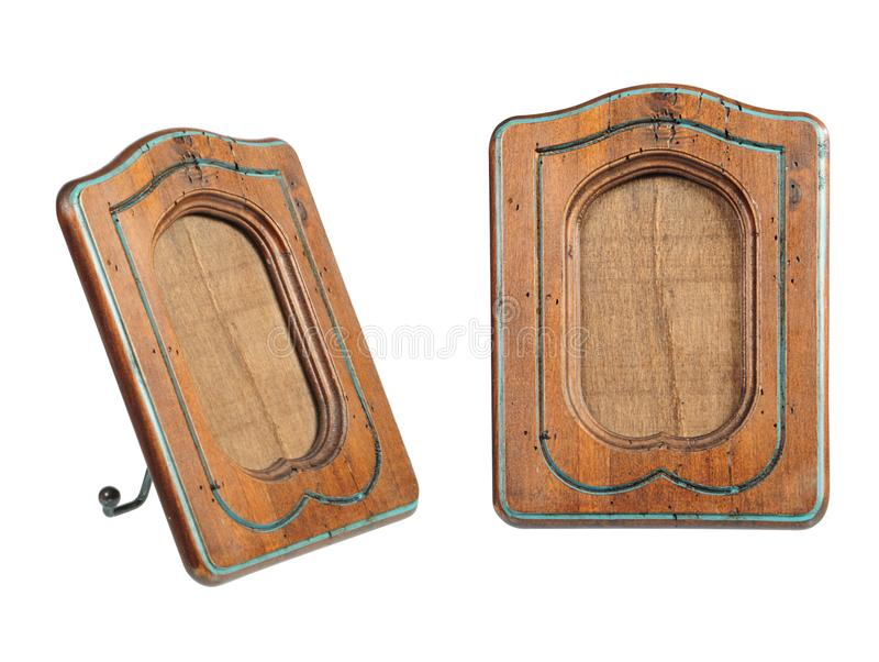 Download Old-fashion wooden frame stock image. Image of picture - 8417601