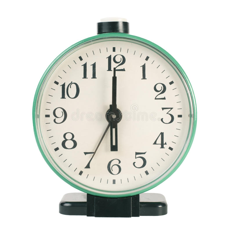 Download Old fashioned alarm clock stock photo. Image of speed - 14012074