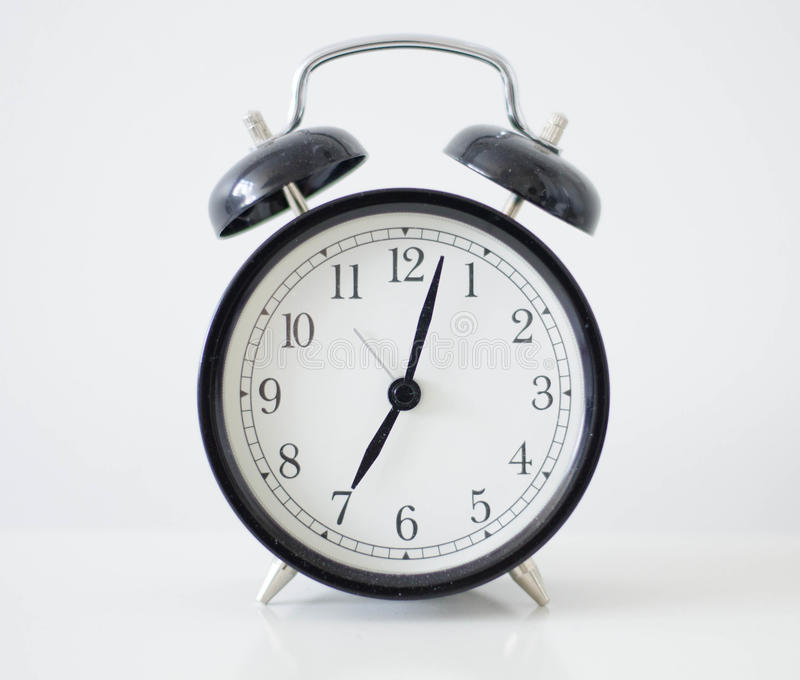 Old fashioned alarm clock stock photo Image of bell
