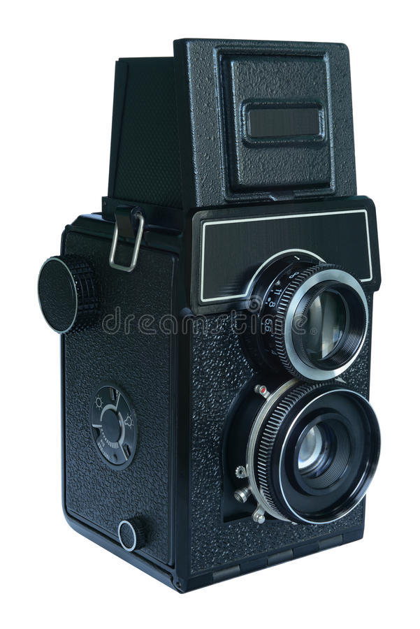 Download Old-fashioned Camera stock image. Image of obsolete, photographic - 26470309