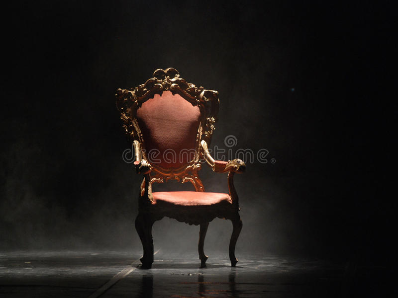 Old fashioned chair royalty free stock images