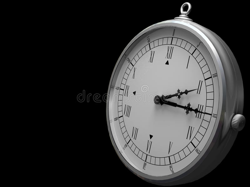 Download Old Fashioned Clock Royalty Free Stock Photography - Image: 10370577