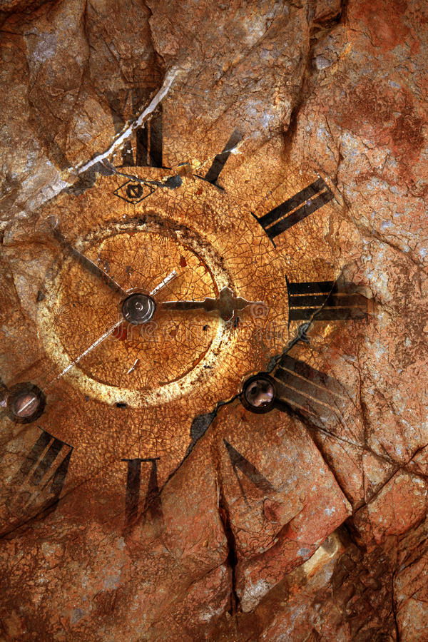 Download Old fashioned clock stock photo. Image of away, clock - 20157838