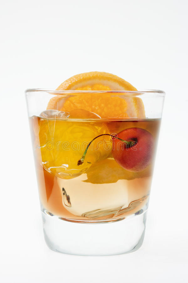 Free Old Fashioned Cocktail Royalty Free Stock Photos - 12850488