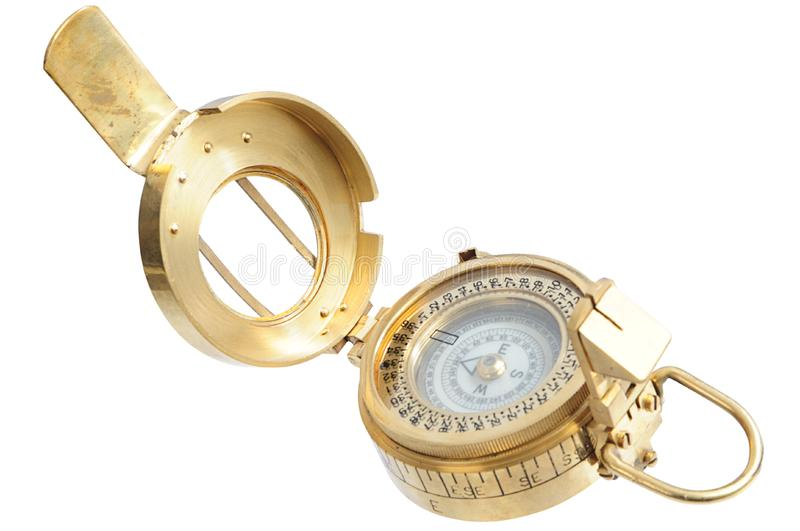 Download Old-fashioned compass stock image. Image of exploration - 8417109