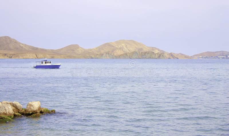Download Old Fashioned Cutter On Black Sea Koktebel, Crimea Stock Photo - Image of black, summer: 21560578
