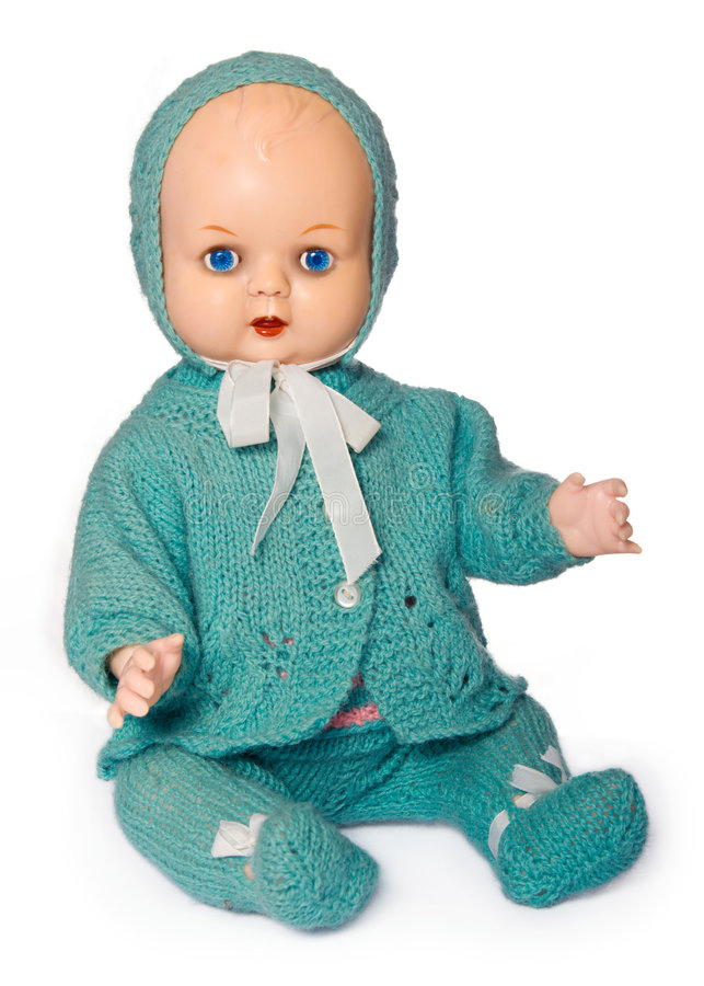 Old-fashioned doll royalty free stock photography