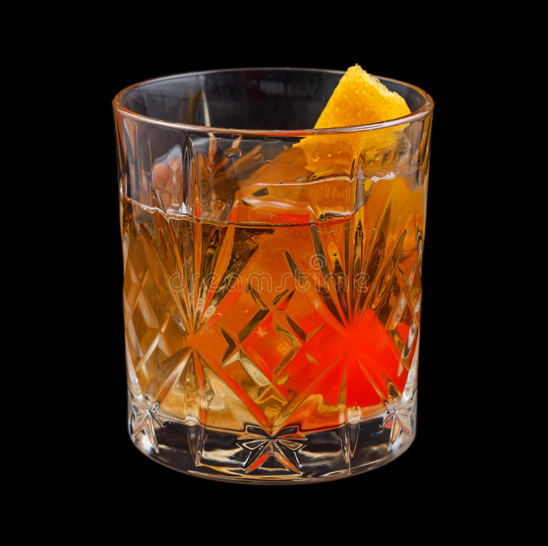 Free Old Fashioned Drink Royalty Free Stock Photography - 51749837