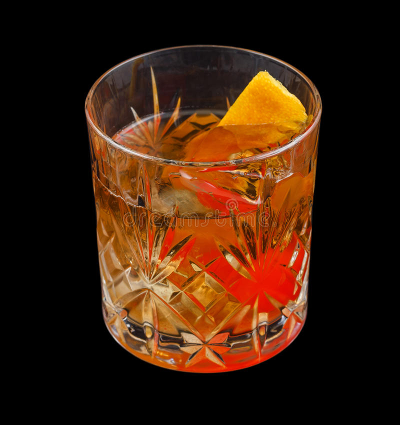 Old Fashioned drink royalty free stock images