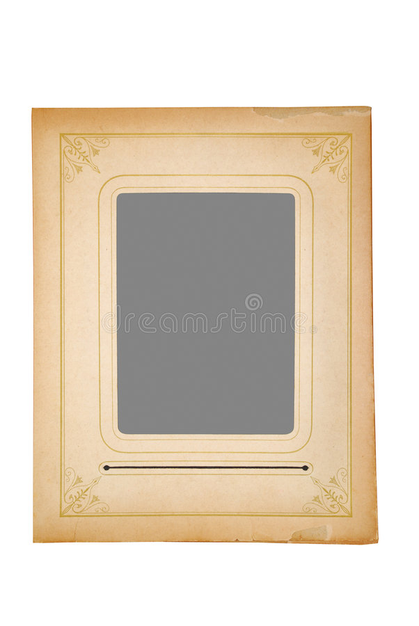 Old-Fashioned Frame royalty free stock images