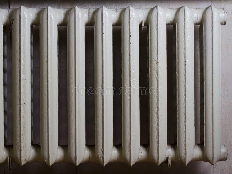 Old-fashioned heat radiator royalty free stock photo
