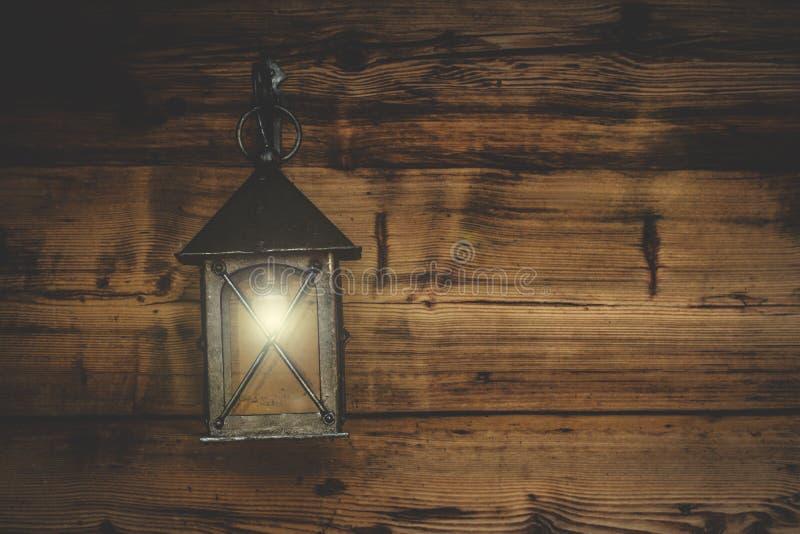 Old fashioned lantern stock photo