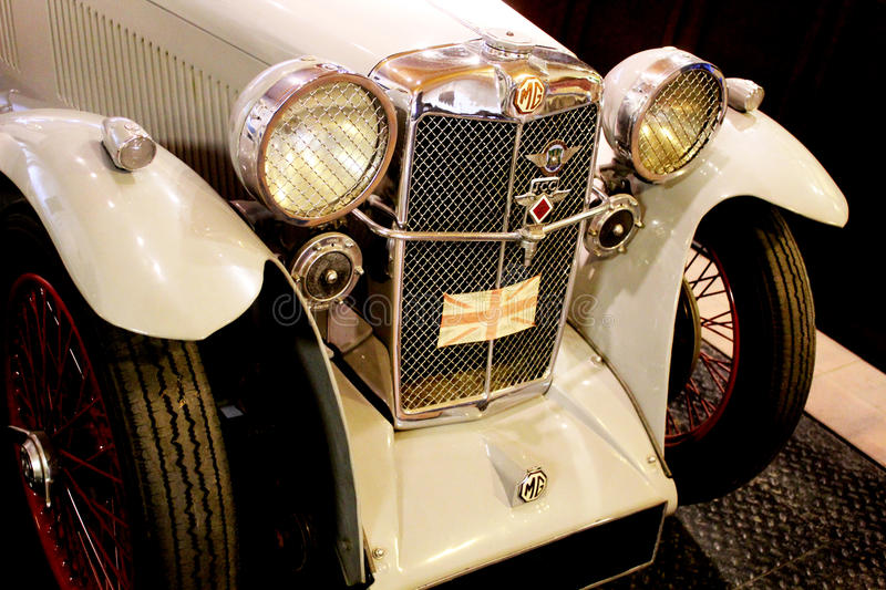 Old Fashioned MG Sports Car royalty free stock photo