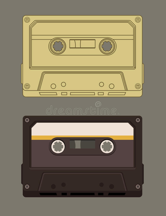 Free Old-fashioned Music Casette Royalty Free Stock Photos - 31134208