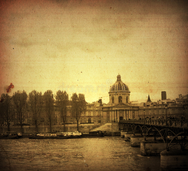 Download Old-fashioned paris stock illustration. Image of rustic - 5222845
