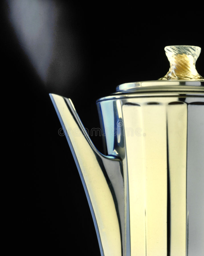 Free Old Fashioned Percolator Royalty Free Stock Photos - 4853538