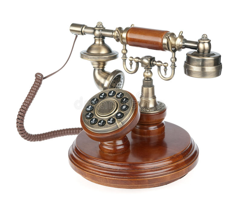 Download Old Fashioned Phone Royalty Free Stock Image - Image: 13407206