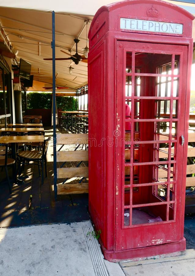 Antique Phone Booth Stock Photo Image Of Booth Grass