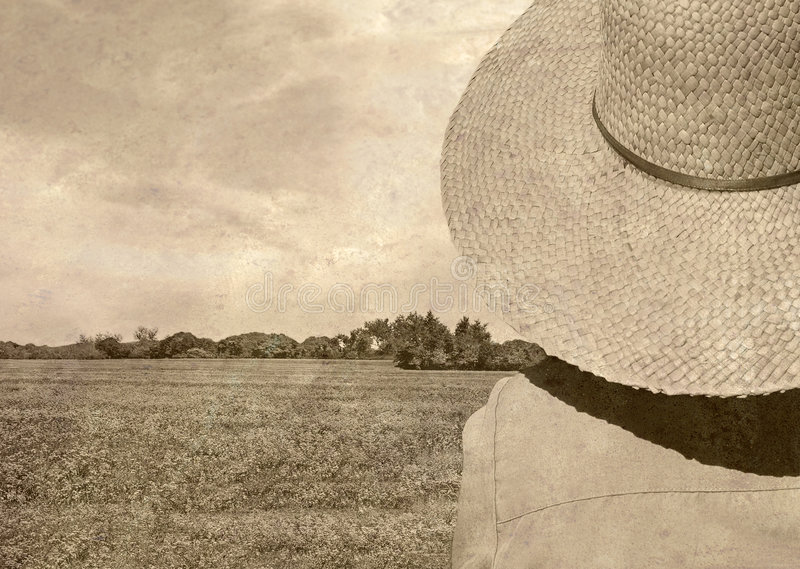 Download Old Fashioned Photo Of Field Stock Image - Image: 5840101