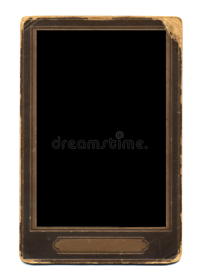 Old-fashioned photo frame royalty free stock photography