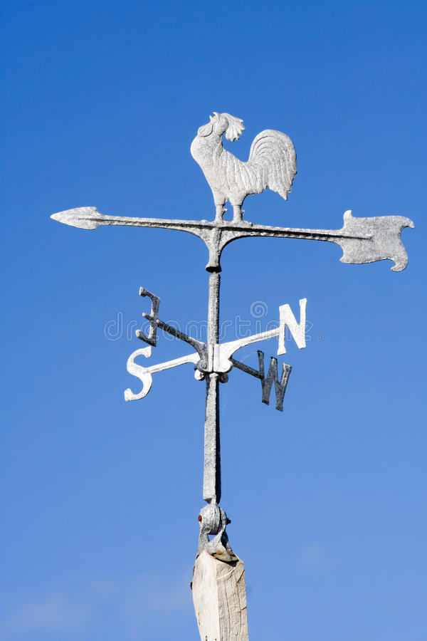 Download Old Fashioned Steel Weather Vane Stock Image - Image: 12510907