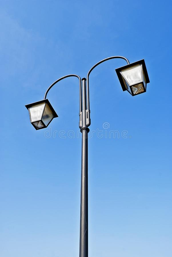 Download Old style street lamp stock image. Image of construction - 24004551