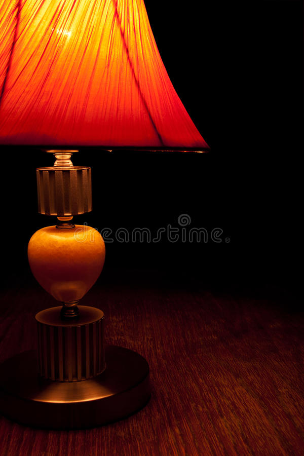 Old fashioned table lamp slightly lighten the darkness stock image download old fashioned table lamp slightly lighten the darkness stock image image of aloadofball Image collections