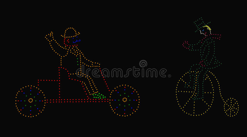 Download Old-fashioned vehicles stock photo. Image of lights, bikes - 17892098
