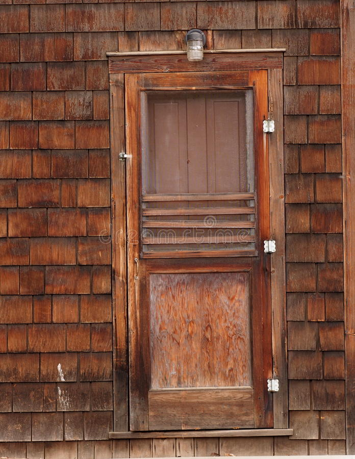 Old Fashioned Wooden Screen Doors ~ Old fashioned wooden screen door stock image of