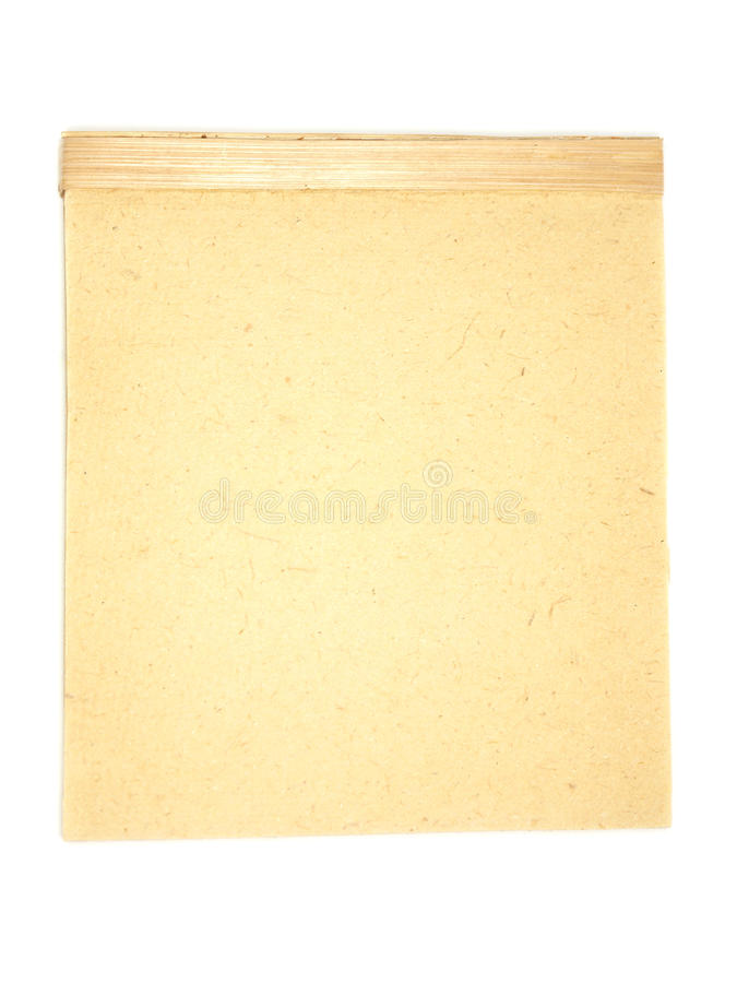Old-fashioned Writing Pad Stock Photos