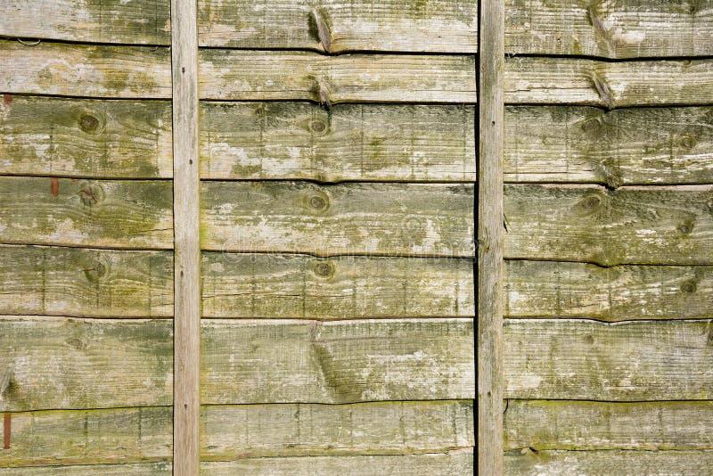 Old fence panel. Old wooden horizontal fence panel background stock image