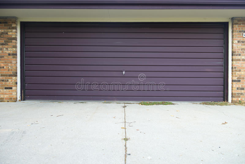 Old Fiberglass Overhead Garage Door